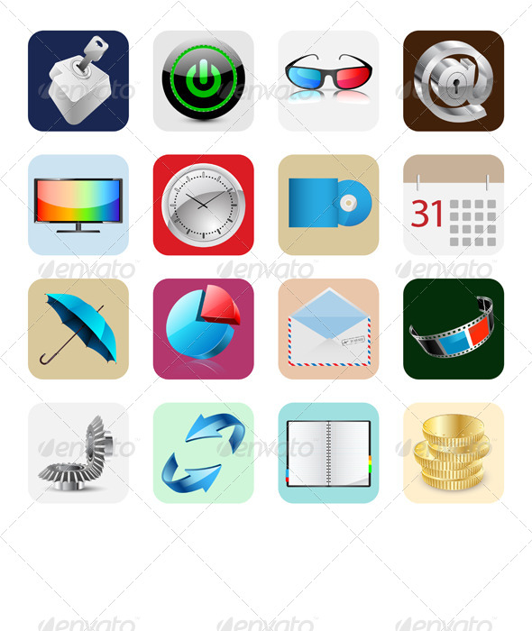 Internet Web Icons - Concepts Business