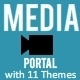 Media Portal Script with Responsive Themes