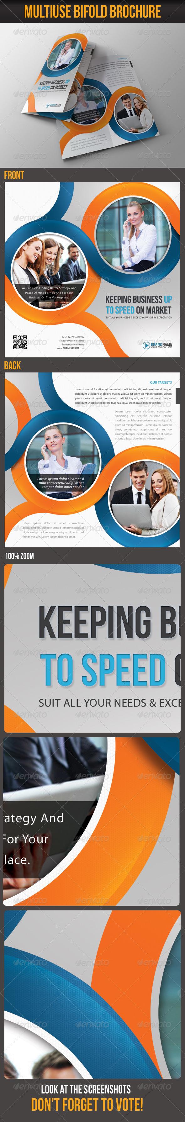 Multiuse Bifold Brochure 40 - Corporate Brochures