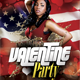 Valentine Party Flyer Template v.1 - GraphicRiver Item for Sale