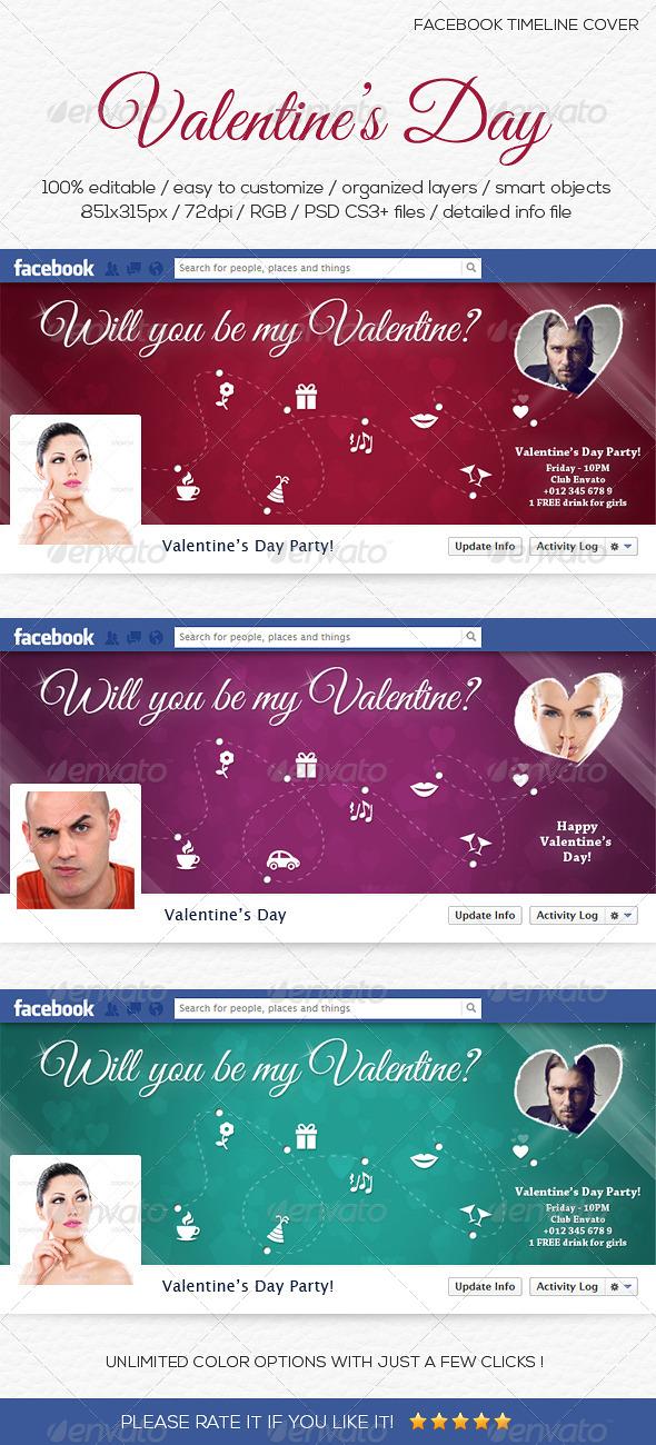 Valentine's Day Facebook Timeline Cover - Facebook Timeline Covers Social Media