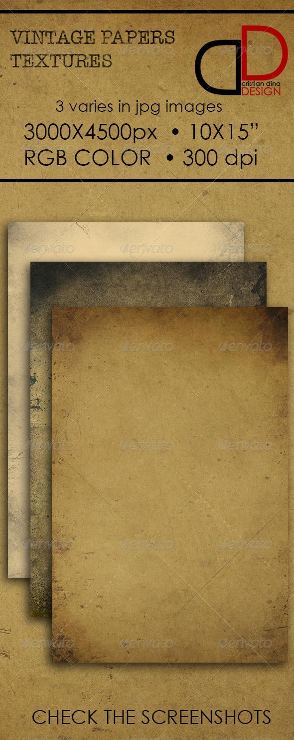 Vintage Paper Texture - Patterns Backgrounds