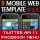 Mobile & Tablet Web Template - HTML5 & CSS3