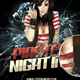 Pirate Night Live Flyer Template - GraphicRiver Item for Sale