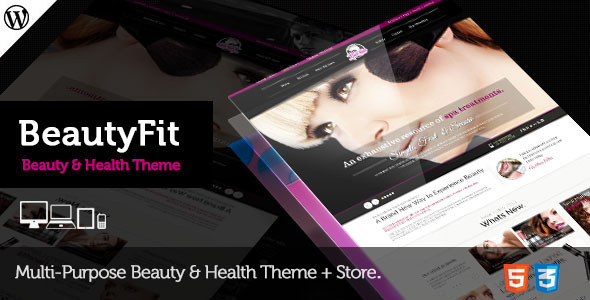 BeautyFit – Health & Beauty Multipurpose Theme