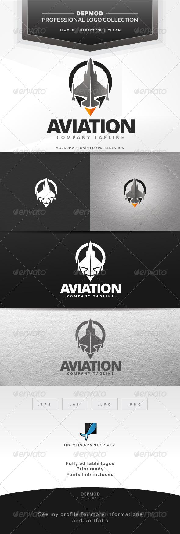 Aviation Logo - Objects Logo Templates