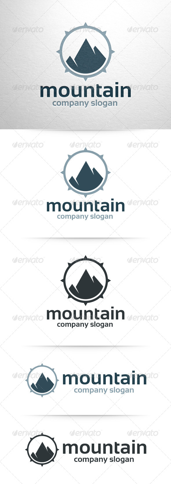 Mountain Logo Template - Nature Logo Templates