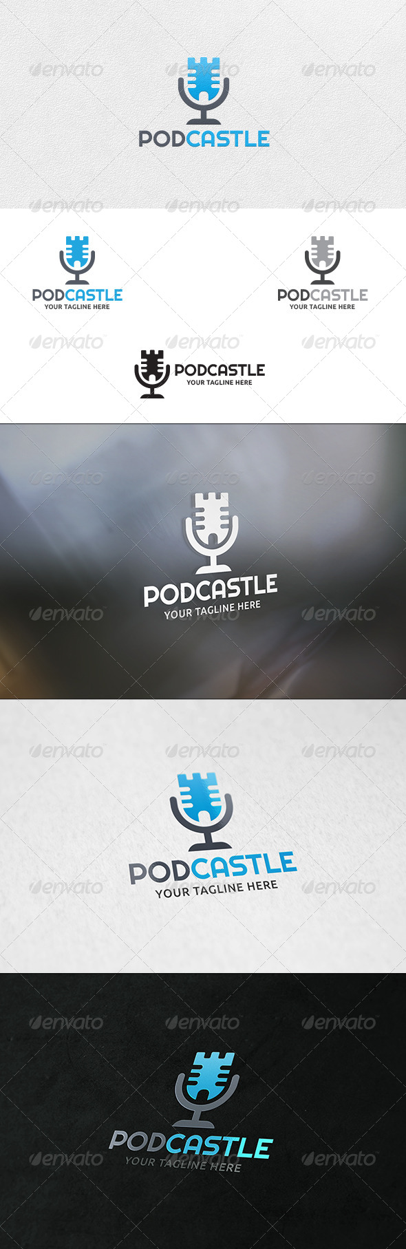 News Castle- Logo Template - Buildings Logo Templates