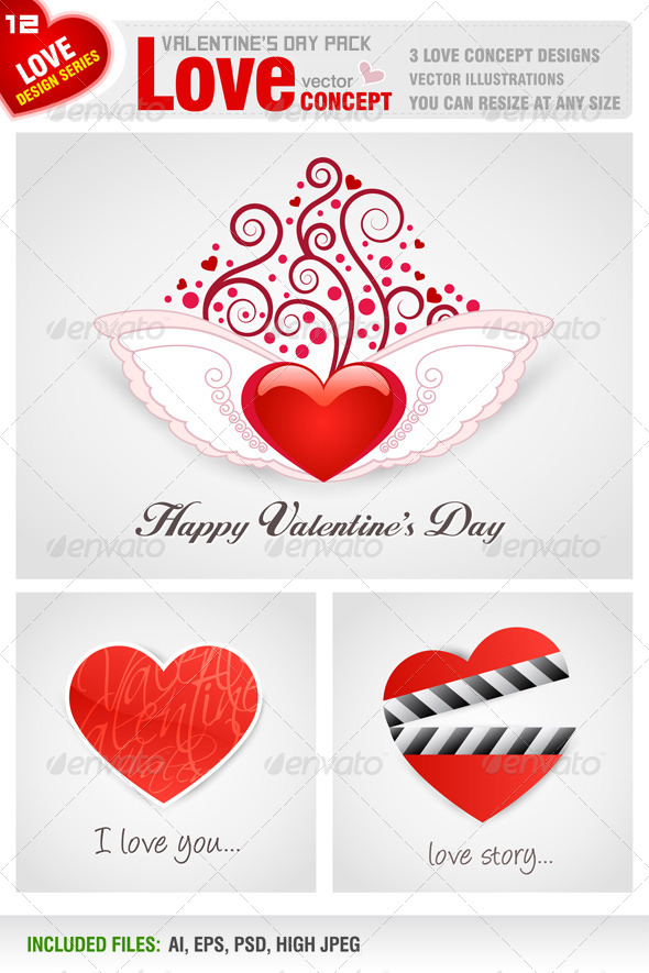 Valentine's Day Pack - Valentines Seasons/Holidays