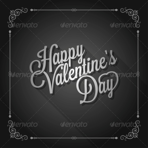 Valentines Day Vintage Movie Design Background - Valentines Seasons/Holidays
