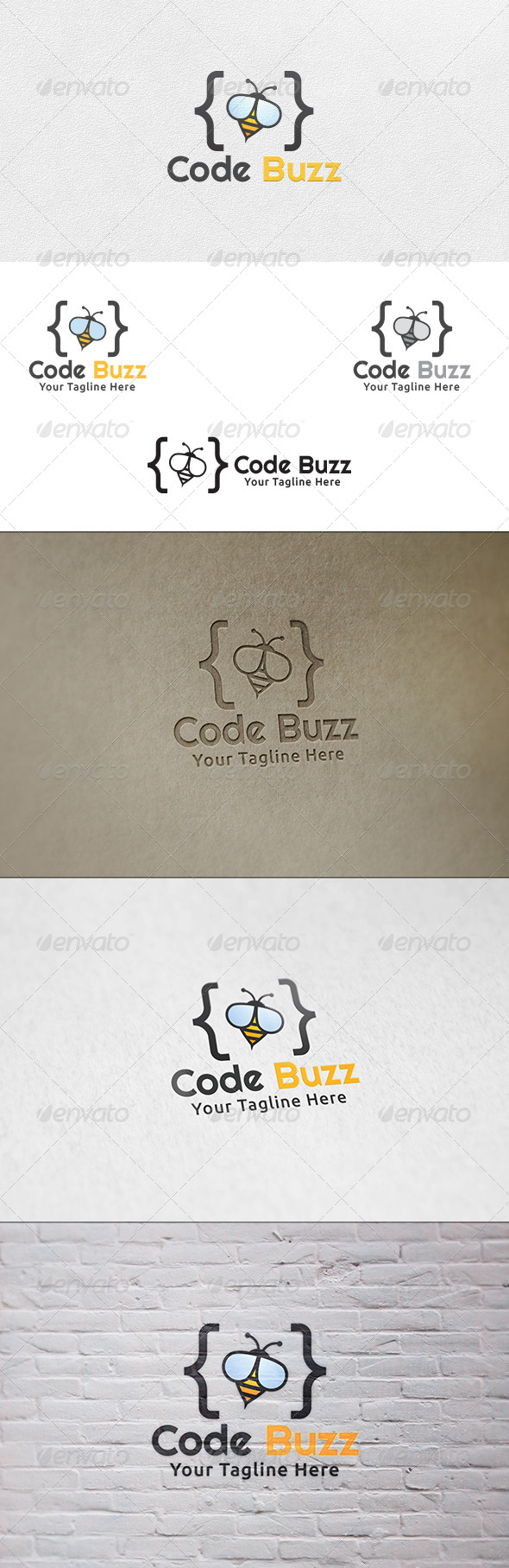 Code Buzz - Logo Template - Animals Logo Templates