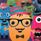 Hipster Monster and Character Creation Kit - GraphicRiver Item for Sale