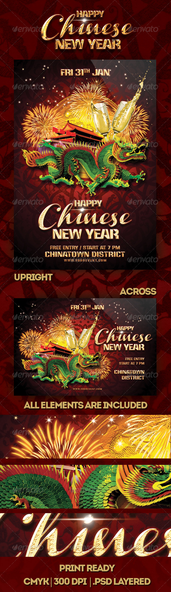 Happy Chinese New Year Flyer