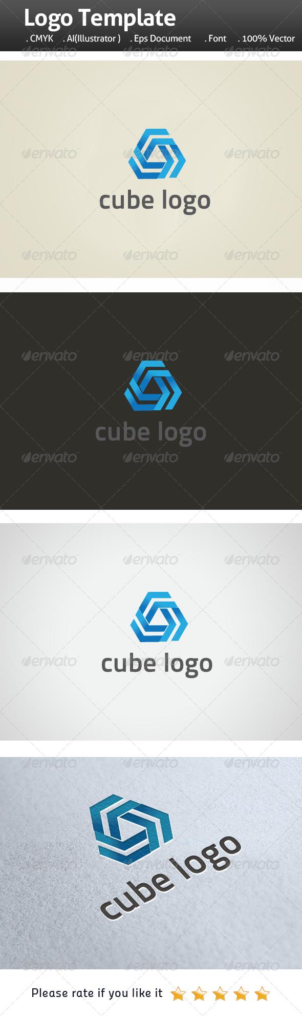 Cube Logo - Symbols Logo Templates