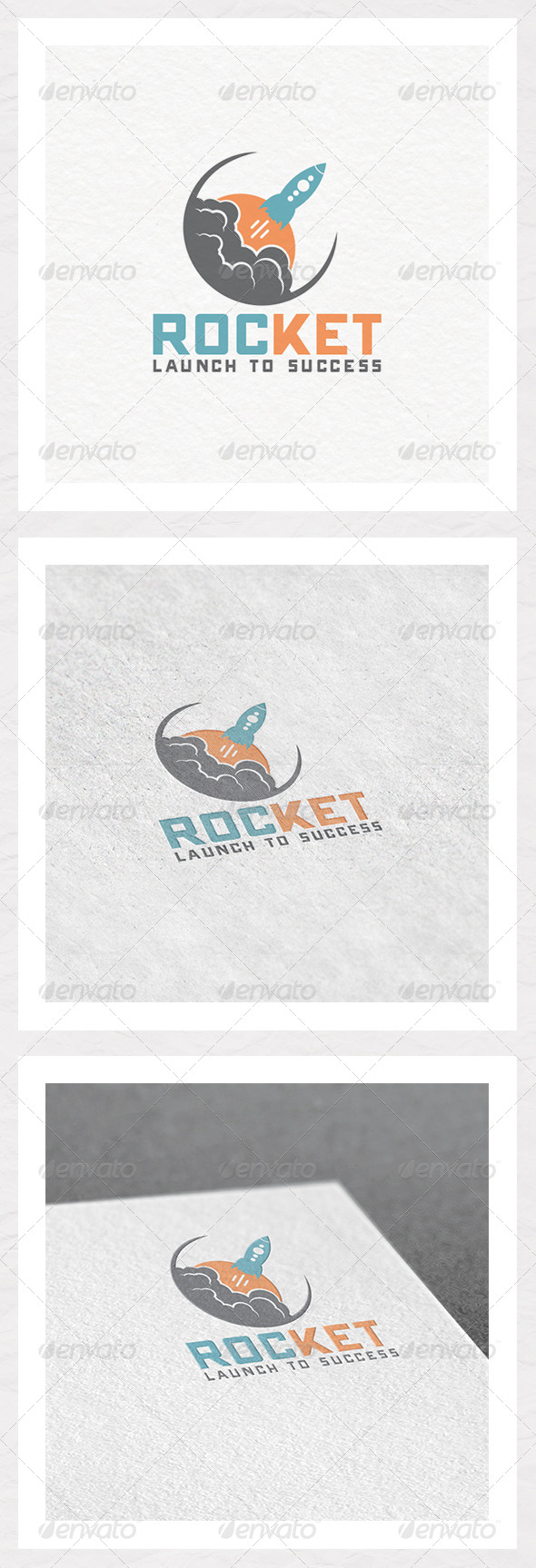 Rocket Success Logo Template - Objects Logo Templates