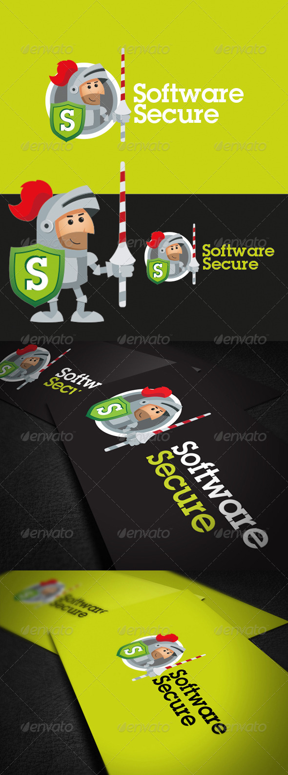 Software Secure - Vector Abstract