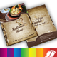 Restaurant Menu Templates Front-2 Middle-Back - GraphicRiver Item for Sale