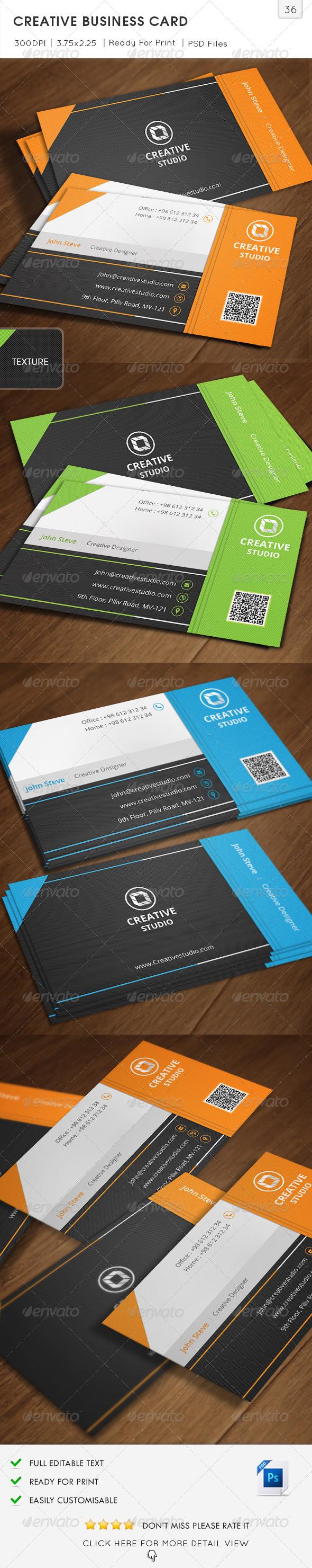 Creative Business Card v36  - Creative Business Cards