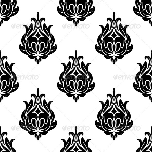 Arabesque Seamless Pattern - Patterns Decorative