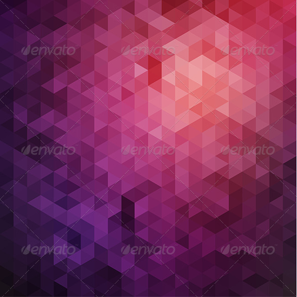 Purple Triangles Background - Backgrounds Decorative