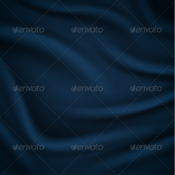Smooth Blue Silky Background - Backgrounds Decorative