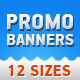 Marketing Banners Set - Google AdWords Ready - GraphicRiver Item for Sale