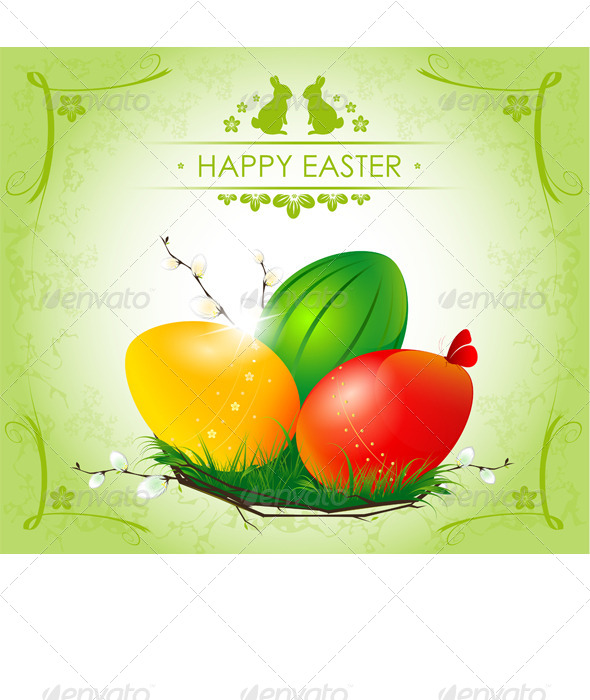 Happy Easter - Seasons/Holidays Conceptual