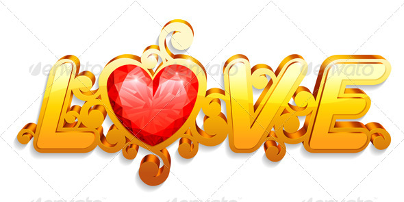 Love Word - Valentines Seasons/Holidays