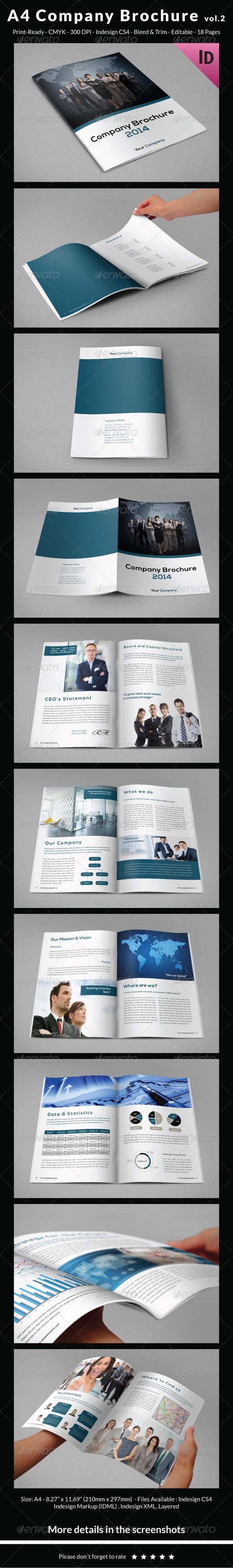 A4 Company Brochure vol.2 - Corporate Brochures