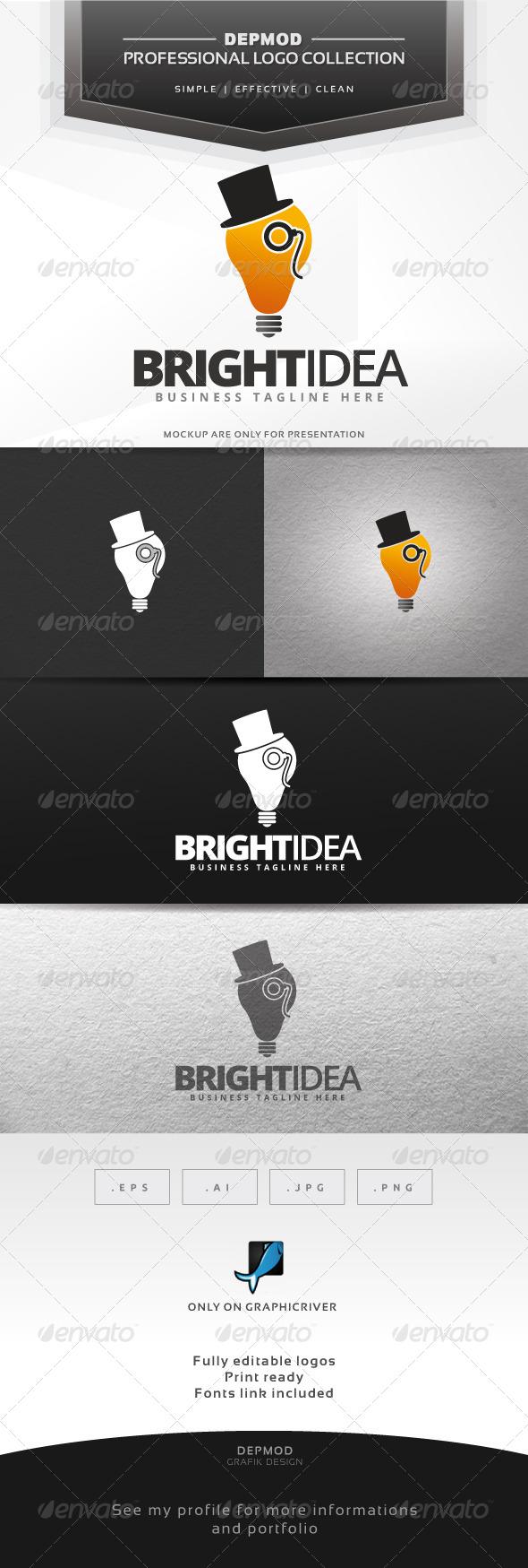 Bright Idea Logo - Symbols Logo Templates