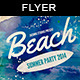 Beach Party | Flyer Template - GraphicRiver Item for Sale