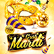 Mardi Gras Party Flyer Vol.3 - GraphicRiver Item for Sale