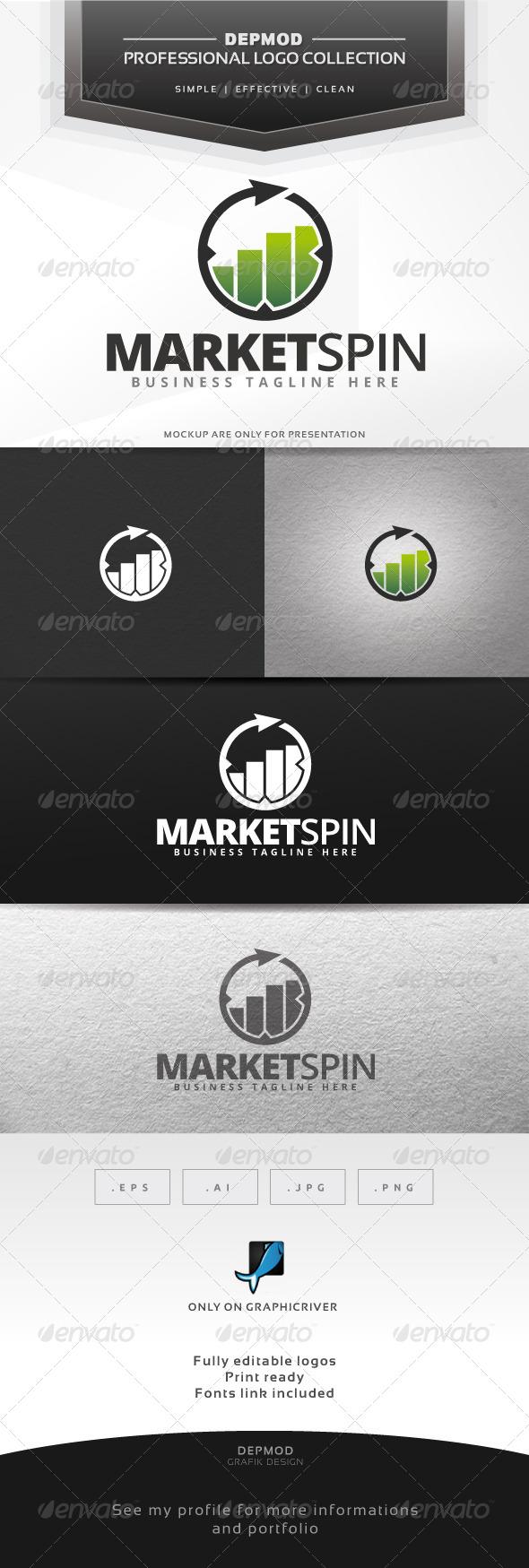 Market Spin Logo - Symbols Logo Templates