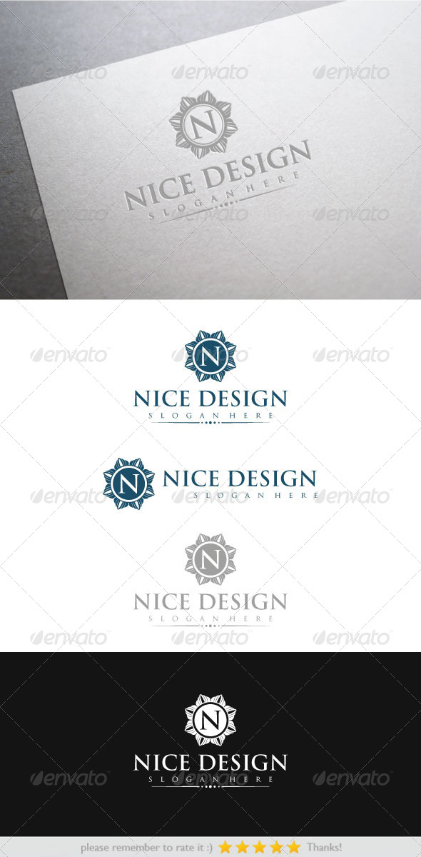 Nice Design - Crests Logo Templates