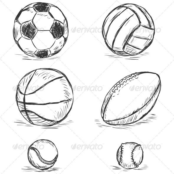 Sport Balls - Sports/Activity Conceptual