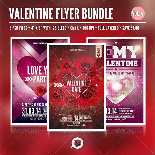 Valentine Bundle Vol. 4 - Clubs & Parties Events