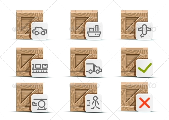Boxes for Delivery - Services Commercial / Shopping