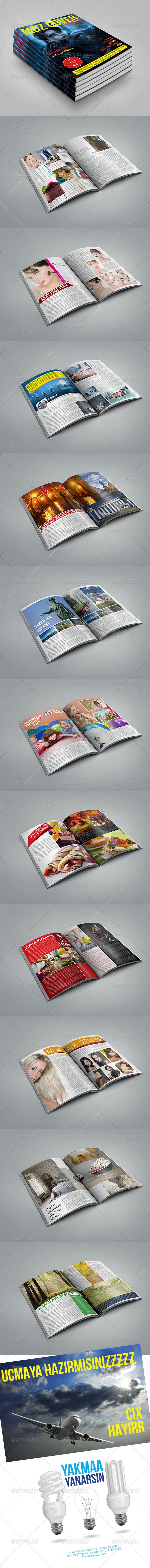 MGZ Magazine Template - Magazines Print Templates