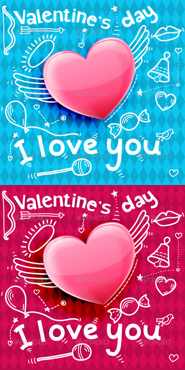 Valentine Day Card - Valentines Seasons/Holidays