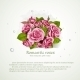 Pink Roses Bouquet - GraphicRiver Item for Sale