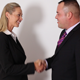 Business Man & Woman Shaking Hands - VideoHive Item for Sale