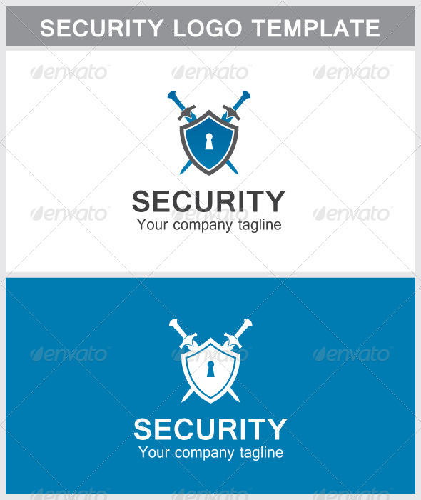Security Logo - Objects Logo Templates