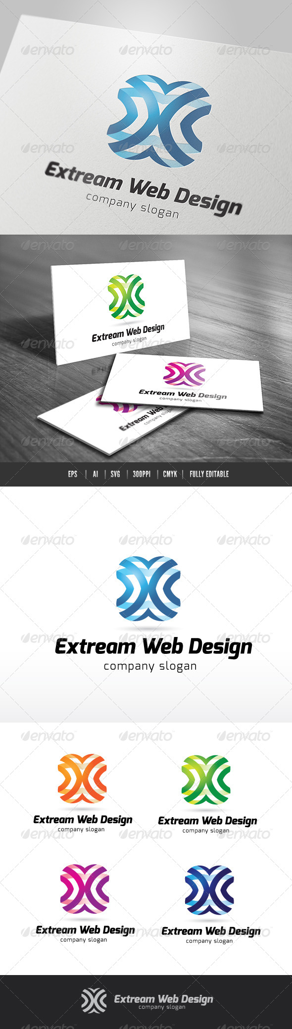 Extream Web Design - 3d Abstract
