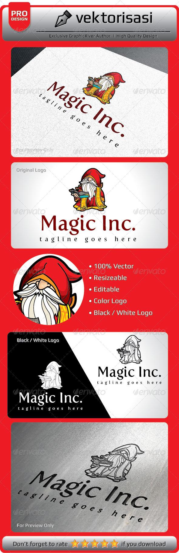 Magic Inc - Humans Logo Templates