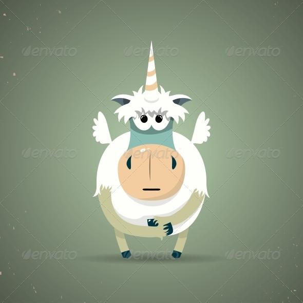 Unicorn - Animals Characters