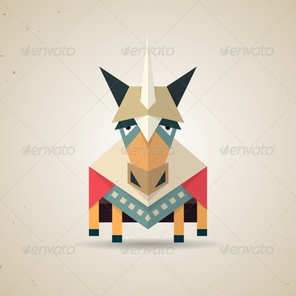 Origami Unicorn - Animals Characters