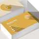 Flat Business Card with Letter B - GraphicRiver Item for Sale