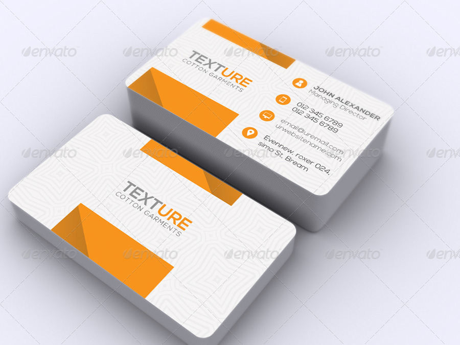Texture Business Card by -axnorpix   GraphicRiver