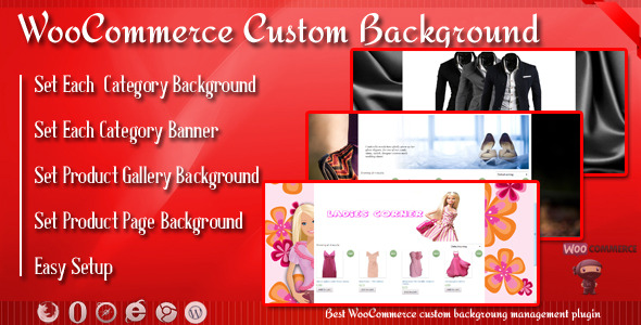 Custom Background and Banner for WooCommerce nulled free download