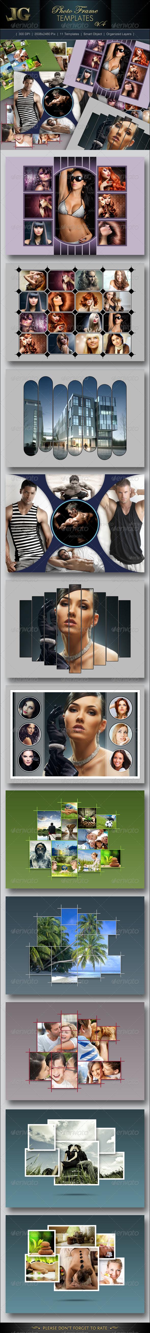 Photo Frames V4 - Artistic Photo Templates